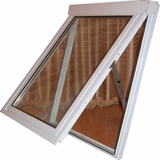 Grey/White/Black Aluminum Outward Open Awning Window