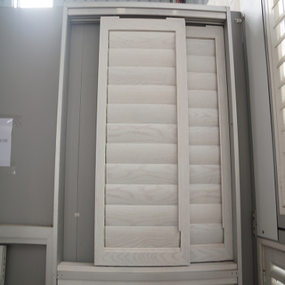 2018 Durable Standard Aluminum Sliding Shutter for Wardrobe with Breathable Ventilation