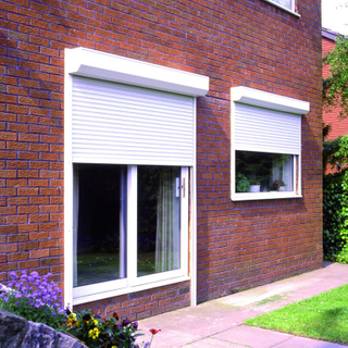 Most Popular Aluminum Roller Shutter Are Suitable for Home Gardens Equipped with Rainproof