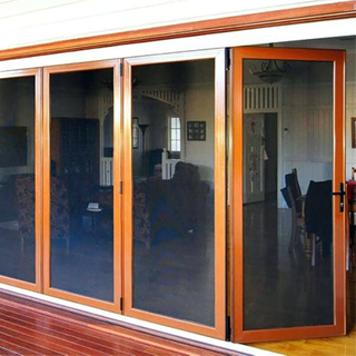 Excellent Quality Aluminum Folding Door with Soundproof Effect Customizable Folding Door