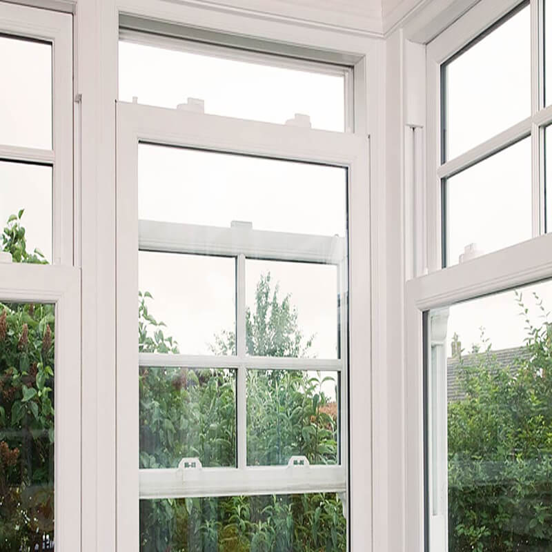 2019 Most Popular Double Hung Windows for Hotels Equipped with Low-emissivity Glass
